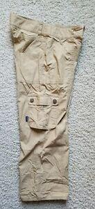 "Patagonia Hiking Outdoor Cargo Capri Pants Women's SZ 4 Waist 29"" Organic Cotton"