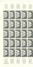 YVERT N° 1022 x 25 TELEVISION TIMBRES FRANCE NEUFS **