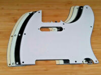 3 Ply Tele Pickguard for US/Mexico Made Fender Standard Telecaster