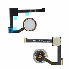 NEW Replacement White & Gold Home Button With Flex Cable For iPad Air 2