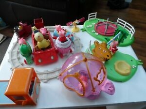 Peppa Pig Bundle, playsets and figures