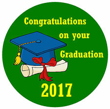 GRADUATION - CONGRATULATIONS BADGE - PERSONALISED FOR YOU, ANY TEXT & YEAR - NEW