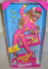 #4612 NRFB Mattel Workin' Out Barbie with Cassette Tape