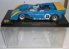 MG VANQUISH CA04 SLOT CAR McLAREN M8D #8 4º SAINT JOVITE 1971 CHUCK PARSONS  MB