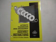 Mack  E7  E-Tech Transmission Assembly Instructions Shop Service Repair Manual