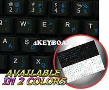 DVORAK ENGLISH NETBOOK KEYBOARD STIKER BLACK