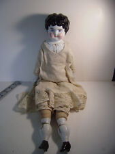 "Antique China Head Doll 20"" Civil War Era"