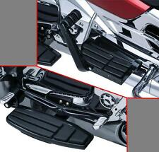 Kuryakyn Black Driver and Passenger Floorboard Kit for GL1800 Goldwing and F6B