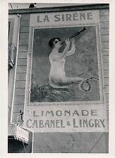 SETE c. 1937 - Affiche LA SIRENE Limonade Hérault - P 1276