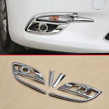 For Mazda 3 2017 2018 Chrome Fog Light Lamp Cover Trims Accessories