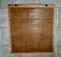 "Japanese Sudare Bamboo Window Shade / Blind:  28.75"" w. x 31"" long"