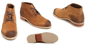 """WOLVERINE 1000 MILE Men's Latham 5"""" Suede Chukka Boots - Made in USA"""