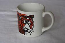 Fierce Tiger Coffee Tea Mug GRINDLEY Staffordshire England Orange Black Stripes