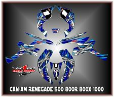 Can-Am Renegade 500 800r 800x 800xc1000  SEMI CUSTOM GRAPHICS KIT race4