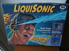 1994 LIQUISONIC SPARA ACQUA GIG cuffia+serbatoio gioco giocattolo
