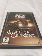 Asesinato en el Orient Express Pc Dvd-Rom  The Adventure Company