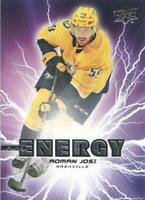 2019-20 Upper Deck Hockey Pure Energy #PE-46 Roman Josi