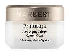 Marbert Profutura Anti-Aging Pflege Cream Gold Trockene Haut
