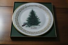 Lenox Annual Christmas Commemorative Plate 1980 Brewer's Spruce