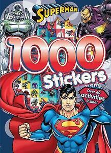 Superman Colouring book 1000 Stickers 60 Activities Inside Superhero Batman