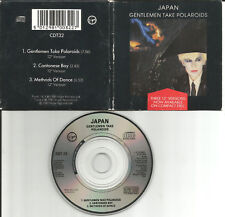 David Sylvian JAPAN Gentlemen 12 INCH MIXES MINI 3 INCH CD Single CD3 USA seller