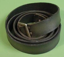 Finnish M39 Mosin Nagant Complete Green Leather Sling W/Square Buckle 49-50""