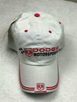 Dodge Racing Motorsports Ram Embroidered Baseball Golf Hat Putty Adjustable NEW