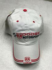 Dodge Racing Motorsports Ram Embroidered Baseball Golf Hat Putty Adjustable NEW