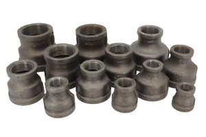 Black Malleable Iron Reducing Sockets