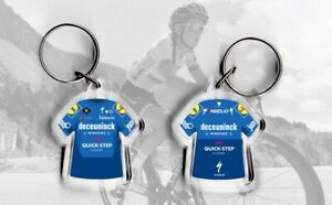 deceuninck quick step, jersey keyring, cycling, Tour de France UCI giro, vuelta