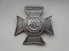 60th Foot  the Kings Royal Rifle Corps  peninsula wars brooched  silver badge