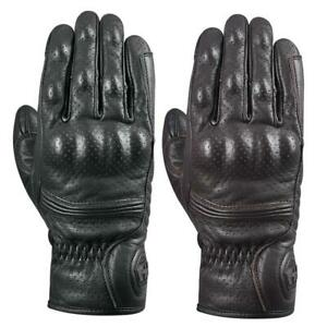Oxford Tucson 1.0 Mens Motorcycle Gloves Retro Classic Leather Bike Glove