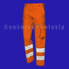 SIR Safety System Warnschutz-Bundhose Mistral 349 37 orange Gr. 58 Neu