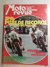 N64 Moto Revue  N°2181 11 juill 1974 SPA pluie de records, 24 heures
