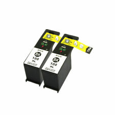 2x Black Ink Cartridge For Lexmark 100xl Interpret S405 Impact S301 S305