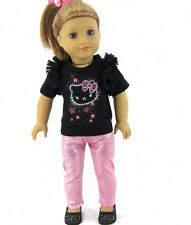 "Lovvbugg Sparkle Kitty Pants Set for 18"" American Girl Doll Clothes  FOUND IT!"