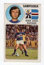figurina - CALCIATORI PANINI 1976/77 NEW - NUMERO 260 SAMPDORIA SAVOLDI