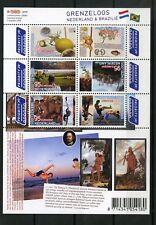 Nederland 2658-2663 a-b-c Grenzeloos Nederland-Brazilië uitgifte 2009 3 vellen