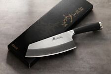 ZHEN Japanese VG-10 3-Layer Forged High Carbon Steel Vegetable Chopping Knife