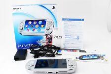 Sony PS Playstation Vita Console PCH-1000 Wi-Fi Model Ice Silver FW3.68 w/Box