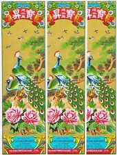 Lot of 3 Original Peacock Brand Firecracker Labels