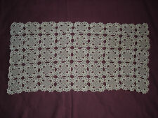 #413 Beautiful Vintage Handmade Table Runner  74cm/38cm(29''/15'')