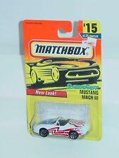 MATCHBOX 1997 #15 MUSTANG MACH III