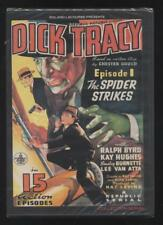 NEUF DVD DICK TRACY SERIE DE 15 EPISODES (1937) POLICIER SOUS BLISTER RALPH BYRD