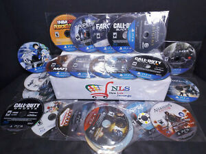 PS3 & PS4 Games DISC ONLY You Pick & Choose