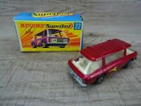 Vintage Lesney 1970 Freeman Inter-City Commuter No 22 Matchbox Superfast boxed