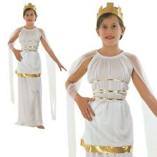 Childrens Grecian Fancy Dress Costume Ancient Greek Goddess Outfit Childs XL