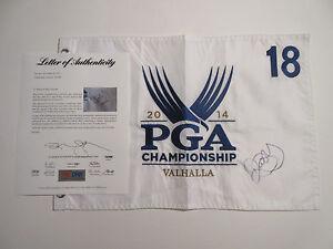 RORY MCILROY SIGNED 2014 PGA CHAMPIONSHIP PIN FLAG PSA/DNA Z05589 VALHALLA