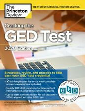 Princeton Review Cracking the GED Test 2020 : Strategies, Review, and Practic...