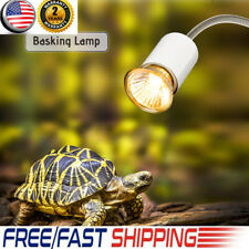 Halogen Lamp Flexible Reptile Lizard Turtle Basking Heat Light Bulb Usa